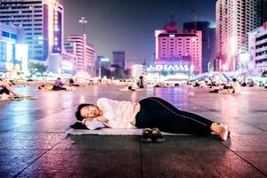 Sleeping China.