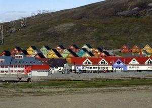 Colorful longyearbyen.