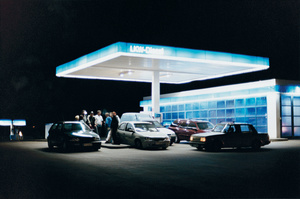 Aral-1, 2004 from the series Tankstelle © Tobias Zielony. Courtesy of KOW, Berlin