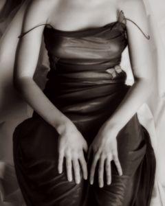 hands/portrait of E