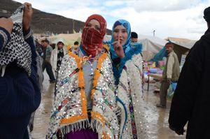 The Potential Brides. Imilchil, Morocco