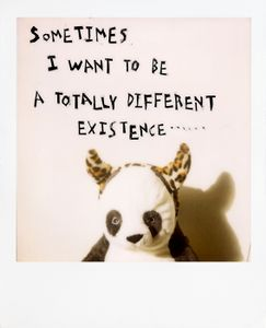 Sometimes I want to be a totally different existence © Mimi Youn