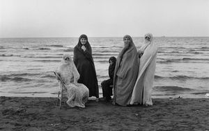 "Iran. Weekend at the Caspian Sea. 1979. From the book ""War Photographer: Between Shadow and Light"" © Christine Spengler"