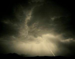 Monsoon storm, Patagonia, Arizona