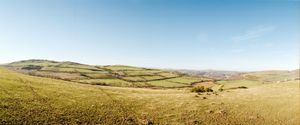 "Above Horseshoe Pass. From the exhibition ""Landscapes"" © Tom Wood"