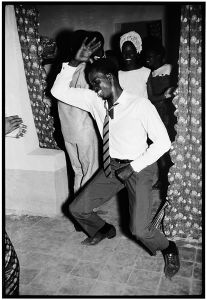 © Malick Sidibé, Merengue dancer, 1964, gelatin silver print, 50 x 60 cm. Courtesy of Fifty One Fine Art Photography.
