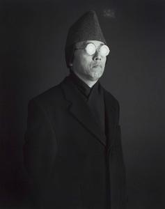 Distorted Universal Vision (Self-Portrait), 2003. Gelatin-silver print © Hiroshi Sugimoto. Exhibitor: Fraenkel Gallery