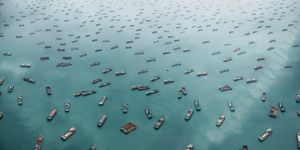 West Lamma Channel, South China Sea (2011). From the series 'EXODUS' © Marcus Lyon