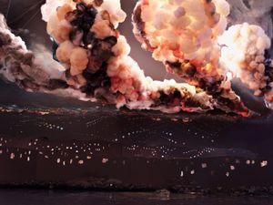 Night Explosion, 2013 © Shirley Wegner, Artiste et Farideh Cadot Paris, Farideh Cadot Associés