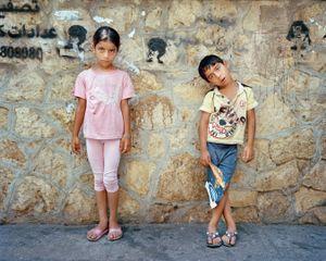 Brother and Sister, Beirut Lebanon 2014