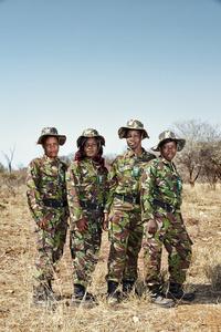 The Black Mambas: Mirren, Winnie, Belinda & Dedaya