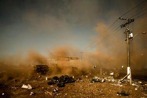 Garbage Dump. SP 334 Road. Ribeirão Preto/SP