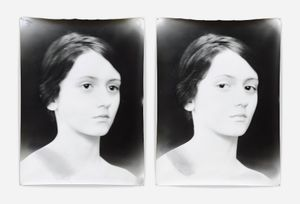 Camille 1 and 2, diptych, 2006 © Jeff Cowen