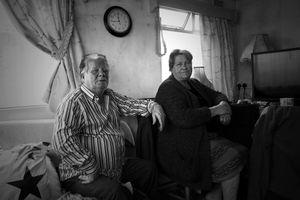 Older Traveler Couple