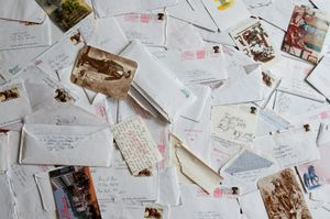An Accumulation of Prison Correspondence © Amy Elkins