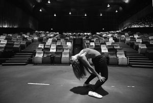 "© Nafise Motlaq - She gets ready for a contemporary dance show in Kuala Lumpur. ""My  biggest dream is to write and direct a dance play for a huge audience"" she said."