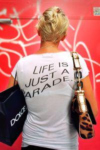 Life is a Parade © Susan A. Barnett, 2009
