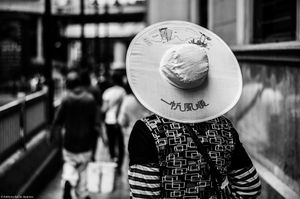 WOMAN WITH A HAT.