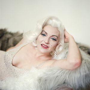 Holly as Marilyn Monroe, Los Angeles, CA, 2016.