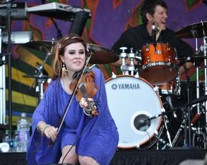Amanda Shaw, New Orleans JazzFest 2016