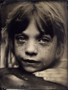 Grace, 8` x 10` Tintype © by David Prifti