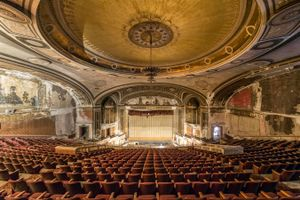 A majestic theater in USA