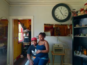 Rochelle and Shawn, Eastside, Detroit 2014