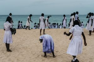 Trincomalee beach, Sri Lanka, 2016