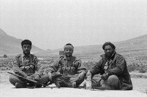 Afghan police © Gigi Roccati