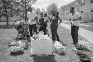 Family First Lemonade Stand.  Detroit, MI 2016