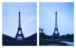 "From the series ""The eiffel tower(s)"" Paris, France / Jeju, Republic of Korea © Han Sungpil"