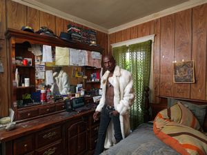 Robert in His Room, Westside, Detroit 2011