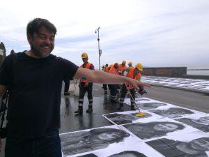 Mario Spada durante InsideOutProject