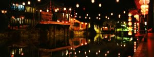 Wuzhen, China 2006. Many historical movies are filmed each year in the city's film studios.