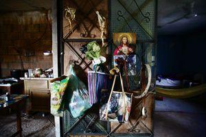 "The ""day and night"" of Gerardo's home. © Meeri Koutaniemi"