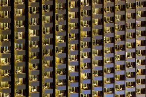 Benidorm balconies 2