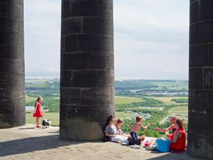Penshaw Monument, Penshaw, Tyne and Wear, 2013. Courtesy Flowers Gallery.
