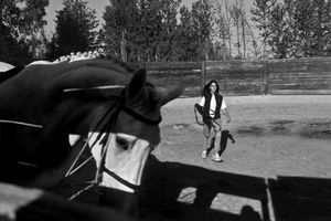 Man and Horse: a photostory of my daughter Anna