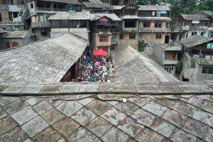 The Village Party, Zhenshan Village, Guizhou, China.