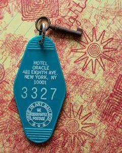 Key to Tesla's room, October 25, 2013 © Jason Fulford