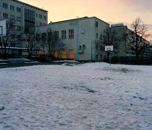School yard, Helsinki