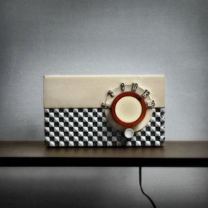 Motorola Checkerboard Radio © Robert Moran