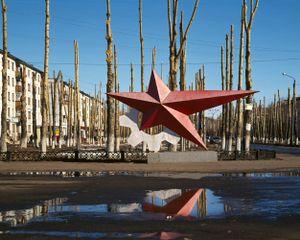 Red star monument, Severodvinsk, Arkhangelsk region. © Maria Gruzdeva