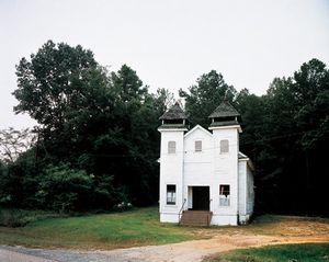 Church, Sprott, Alabama, 1981