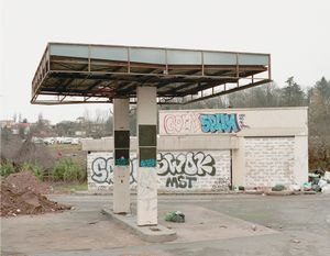 "Station #20, from ""Twentysix Abandoned Gasoline Stations"" © Eric Tabuchi"