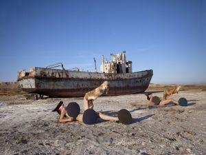 The Aral Beach, 2009. Showing at Galerie A. Benamou - V. Maxé. Courtesy Art Paris Art Fair.