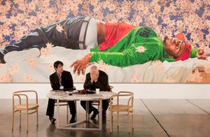 Sean Kelly, Art Basel Miami Beach 2010  Artist: Kehinde Wiley  © Andy Freeberg