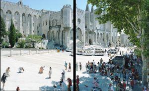 Avignon diptych, #029. © Massimo Vitali