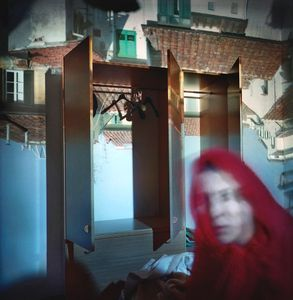 Camera obscura / Self portrait, Florence, Italy, 1999