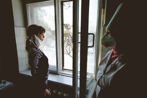 Irina, 1967. Diagnosis: MDR TB. Dzerzhinsk TB hospital, Donbass,  January 2011.